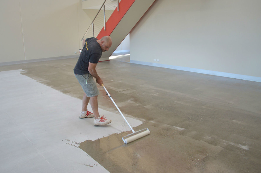 Panatta Staff Sealing concrete